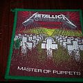 Green Border Master of Puppets Patch
