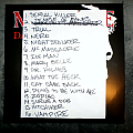 Macabre - Other Collectable - Macabre setlist & guitar pick