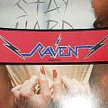 Raven logo strip patch