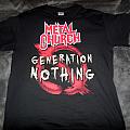 Metal Church- Generation Nothing shirt