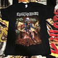 Iron Maiden- Book of Souls tour shirt