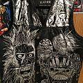 Iron Maiden vest- front Battle Jacket
