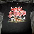Metal Church- The Human Factor tour shirt