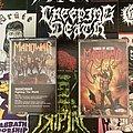 Manowar cassettes signed by Ross Tape / Vinyl / CD / Recording etc