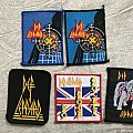 New and rare Def Leppard patches!!