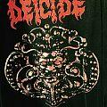 Deicide original vintage 1990 European tour T-shirt rare