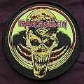 Iron Maiden skull patch for Ruhrpott Warrior