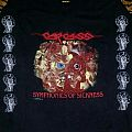 CarCass- Symphonies Of Sickness Gore Collage Longsleeve 1990 (Version #1) TShirt or Longsleeve
