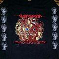 CarCass- Symphonies Of Sickness Gore Collage Longsleeve 1990 (Version #1) TShirt or Longsleeve
