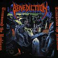 BENEDICTION- TRANSEND THE RUBICON 1993 World Violation longsleeve. Dead Mint Conditions!