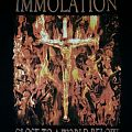 IMMOLATION~ World Of Darkness Tour 2001 T-shirt.