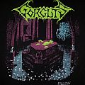 GORGUTS- Considered Dead 1992 T-shirt (Version #1, Blue Water Print)