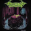 GORGUTS- Considered Dead 1992 T-shirt (Version #1, Blue Water Print)