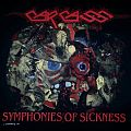 Carcass - TShirt or Longsleeve - CARCASS- Symphonies Of Sickness Gore Collage T-shirt 1990 ( Brand New), Version...