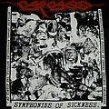 CARCASS- Reek Of Putrefaction/Symphonies Of Sickness 1989 T-shirt
