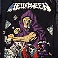 Helloween - Walls Of Jericho back patch