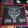 Judas Priest - Defenders of the faith patch (red borders)