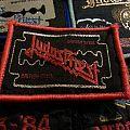 Judas Priest - British steel (red borders) patch