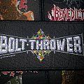 bolt thrower- mini strip Patch