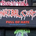 Cannibal corpse - full of hate strip patch