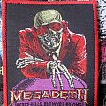 Megadeth - Peace sells ( red borders ) Patch