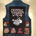Cannibal Corpse - Battle Jacket - My very first battle vest (incomplete)