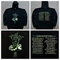 Nile - 2002 - In Their Darkened Shrines EU tour hoodie Hooded Top