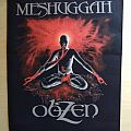Meshuggah - obZen - backpatch