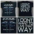 Fear Factory - 2010 - Replica alt TShirt or Longsleeve