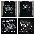 Fear Factory - 1998 - rEVOULTION tank TShirt or Longsleeve