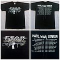 Fear Factory - 2010 - Hate War Terror EU Tour TShirt or Longsleeve