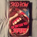 Skid Row - Oh Say Can You Scream VHS