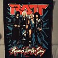 Ratt - Reach for the Sky Back Patch (Signed by Stephen Pearcy)