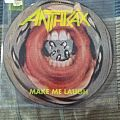 "Anthrax - ""Make Me Laugh"" Picture Disk Tape / Vinyl / CD / Recording etc"