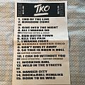 TKO setlist (Legions of Metal) Other Collectable