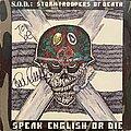 S.O.D. - Tape / Vinyl / CD / Recording etc - S.O.D. - Speak English or Die (Signed by Charlie Benante)