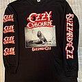 Ozzy Osbourne - TShirt or Longsleeve - Ozzy Osbourne - Blizzard of Ozz longsleeve shirt