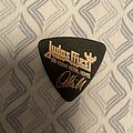 Judas Priest - Other Collectable - Judas Priest - Ian Hill's bass plectrum
