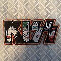 Kiss - Patch - KISS - Faces logo patch