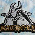 Bathory - Patch - Bathory - Goat large back patch