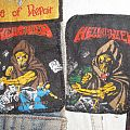 Helloween Walls of Jericho original Printed patches