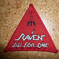 Raven - All For One triangle patch