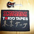 Scorpions Tokyo Tapes collection Patch