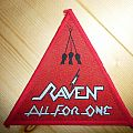 Raven - All for one, original triangle patch