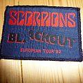 Scorpions Blackout european tour '82 Patch