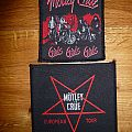 Mötley Crüe patches
