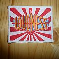Loudness white border patch