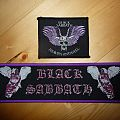 "Black Sabbath ""Heaven and Hell"" patches"