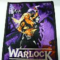 Warlock - Triumph And Agony purple patch