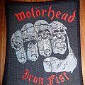 Motörhead - Iron Fist patch